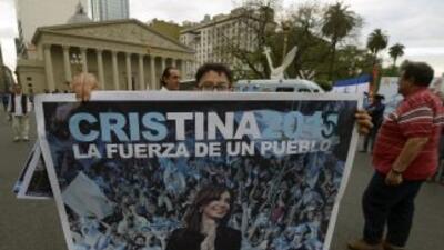 Cristina Fernández fue intervenida quirúrgicamente el pasado 8 de octubr...