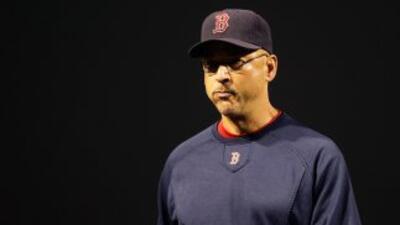 Terry Francona respiró aliviado después de que Boston lograra mantener l...