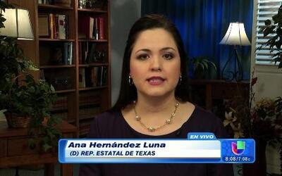 Ana Hernández, representante estatal, se benefició de la amnistía de 1986
