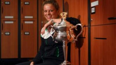 Clijsters destronará así a la danesa Caroline Wozniacki, actual número 1...