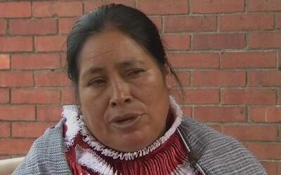 Indígena mexicana exige un perdón de las autoridades