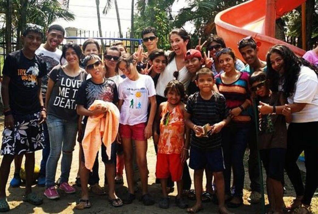 """""""Una felicidad inmensa regresar y compartir con mi familia de #Fundacion..."""