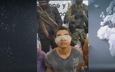 Delincuentes atrapando a delincuentes en México
