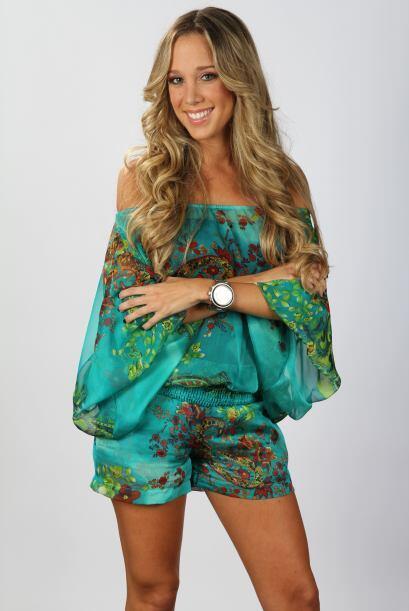 Andrea Martínez es la barbie y la sirenita. Ella siempre está resolviend...