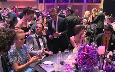 ¿Qué cenaron Angelique Boyer y Sebastián Rulli en los 'Premios TVyNovela...
