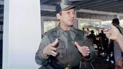 El ex dictador panameño, Manuel Antonio Noriega.