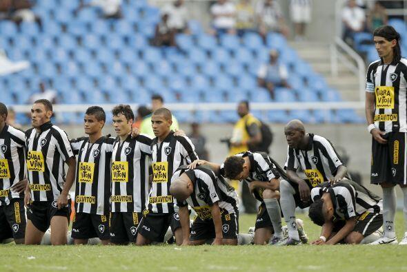 El triunfo fue por 3-1 ante Botafogo y en los penales. Los jugadores de...