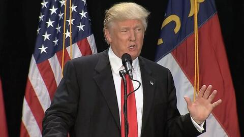 Donald Trump se arrepiente de varias cosas que ha dicho