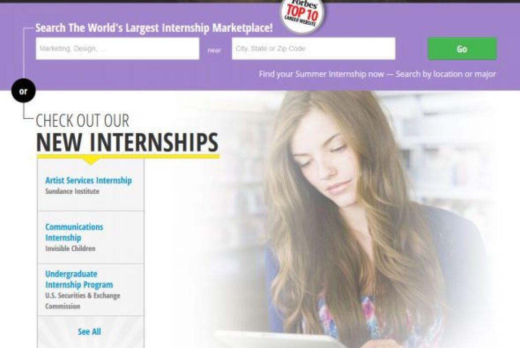 Internships.com: Creado por CarreerArc Group, este sito es el ideal para...