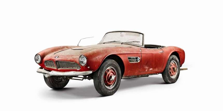 La restauración del BMW 507 1957 de Elvis 007a_Elvis-507-Header-alt-rot-...