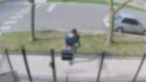 'Chicago en un Minuto': buscan a joven que quedó grabada en video cuando...