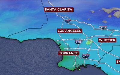 Alerta por fuerte oleaje y posibilidad de lluvia para este martes en Los...