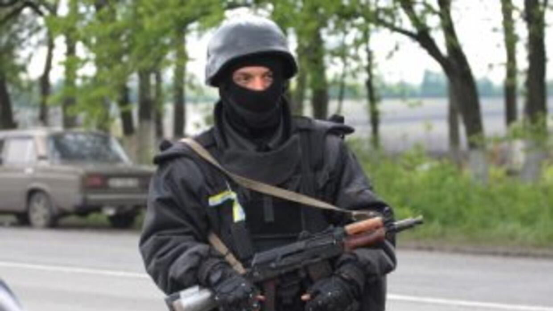 El ministro de Interior de Ucrania, Arsén Avakov, afirmó quelos rebelde...