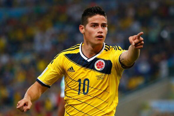 La contratación del colombiano James Rodríguez se coloca como la tercera...