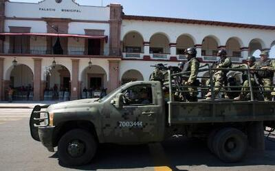 El Ejército mexicano abate a cuatro personas en Michoacán