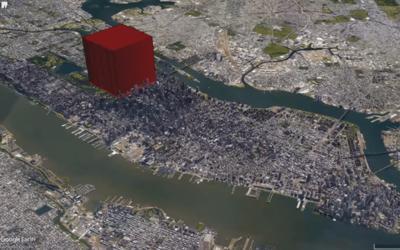 Toda la humanidad podría caber en un edificio del tamaño d...