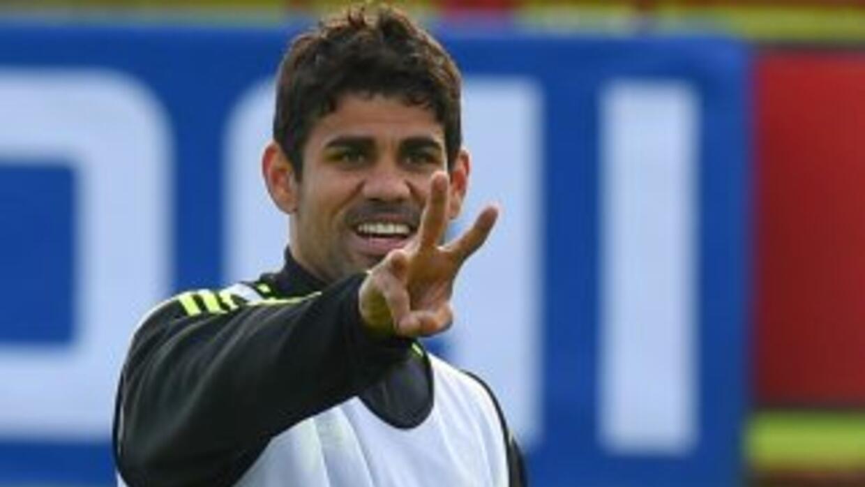 Diego Costa destacó que se encuentra en buena forma para el partido ante...