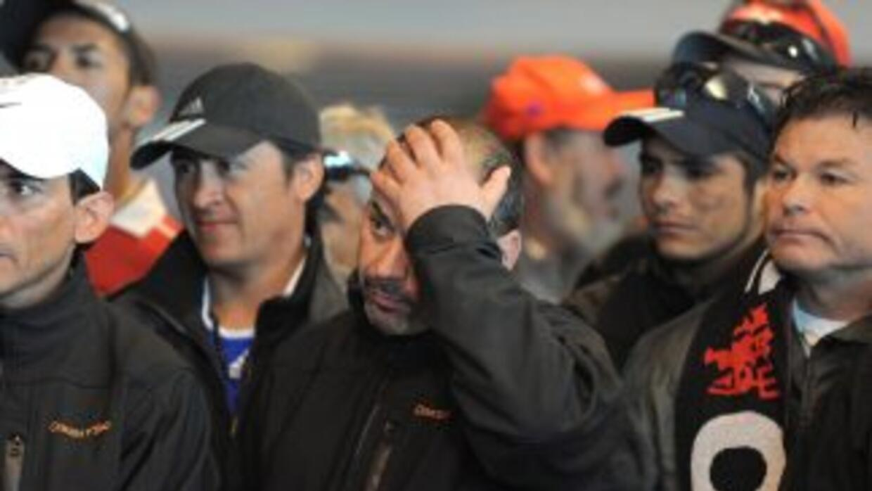 Los mineros chilenos que quedaron atrapados en un yacimiento de carbón c...