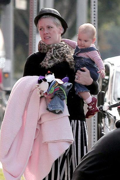 Desde que Willow llegó a sus vidas, Pink ha sacado su lado más maternal....