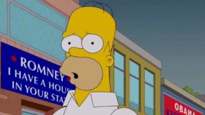 Homero descubre que el Estado ha estado pagando impuestos a Romney en co...