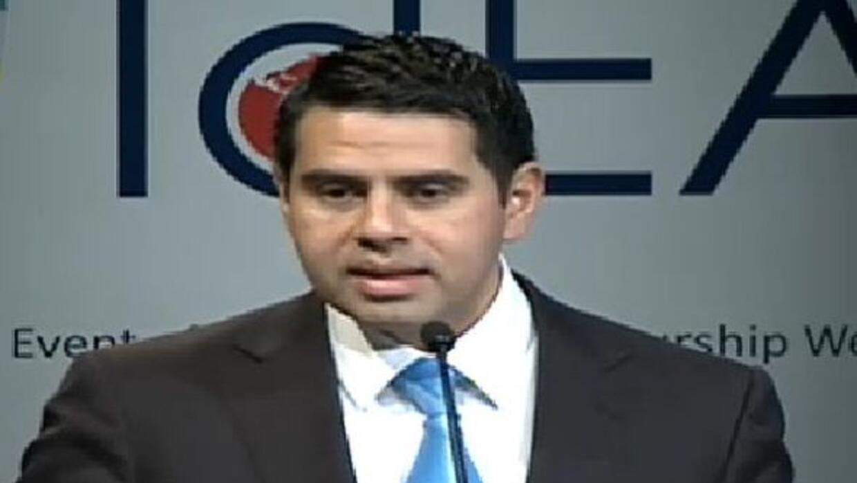 Cesar Conde speaks at Global Entrepreneurship Week event in Washington,...