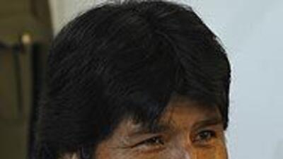 El presidente boliviano Evo Morales dijo su versión sobre el consumo de...