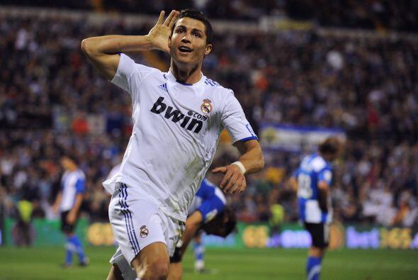 Hasta que apareció otra vez Cristiano Ronaldo, recibió un pase del franc...