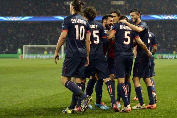 LO MEJOR - PSG se une a la élite europea:   El cuadro parisino fi...