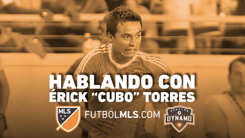 """Hablando con Érick """"Cubo"""" Torres"""