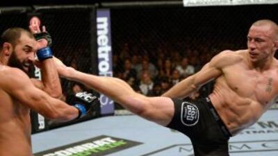 GSP retuvo por novena ocasión el cinturón welter del UFC.
