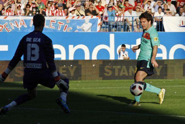 Al argentino Lionel Messi se le ha hecho costumbre anotar desde los prim...