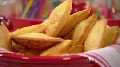 Galletas Madeleine de Piña Colada: En estas galletas se mezclan los sabo...