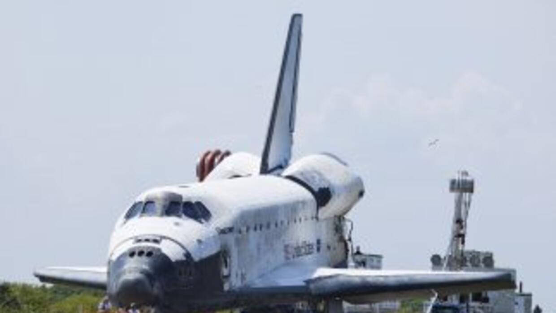 Tras 27 años de actividad, el Discovery volvió a casa para quedarse.