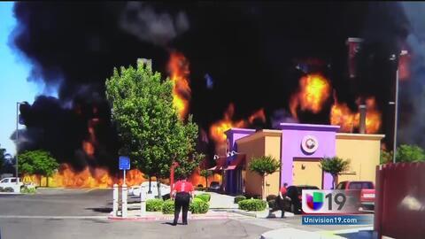 Negocios comerciales en alerta tras explosión en Atwater