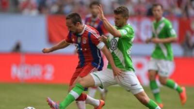 El campeón alemán levantó de nuevo la copa de campeón.