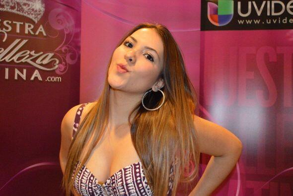 Esta bella chica es mexicana y audicionó en Chicago. Una de sus g...