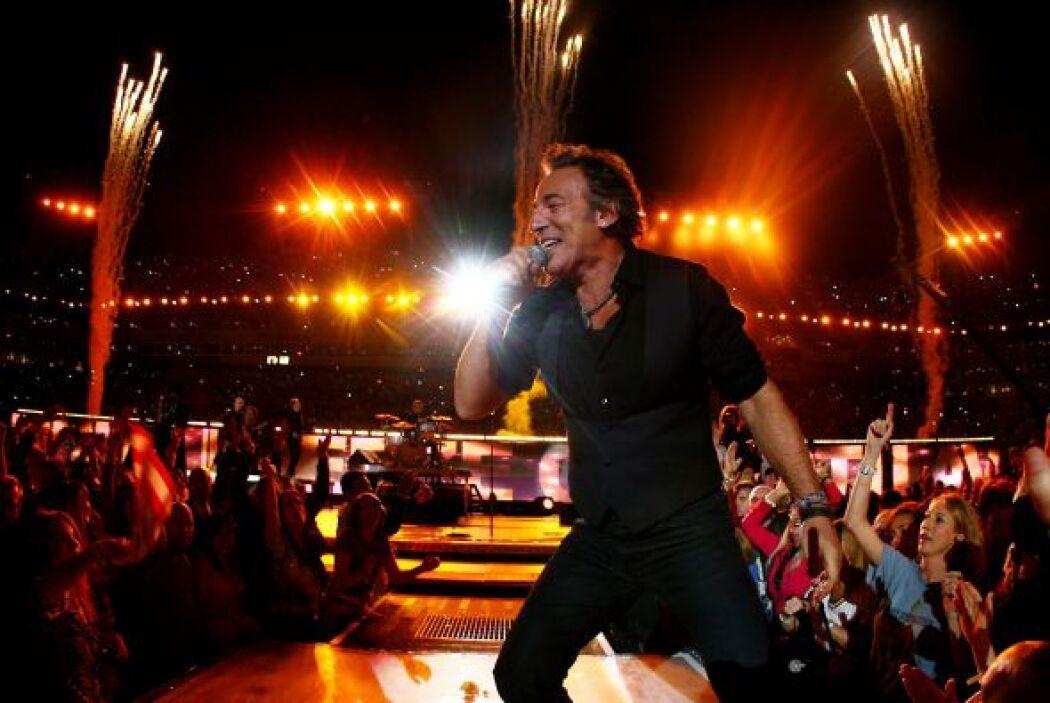La fiesta máxima del fútbol Americano, Bruce Springsteen lo vivió en la...