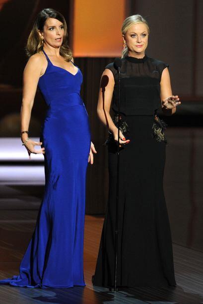 Siempre divertidas, Tina Fey y Amy Poehler. Mira aquí lo último en chismes.