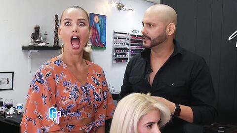 Ximena Córdoba descubrió los trucos de las famosas para tener melenas de...
