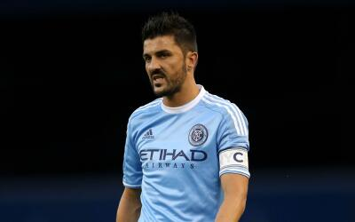 David Villa reacciona frustrado, New York City FC