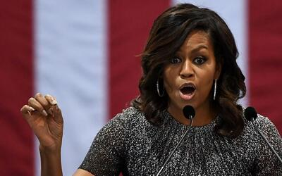 "Michelle Obama: ""Donald Trump no conoce a los inmigrantes"""