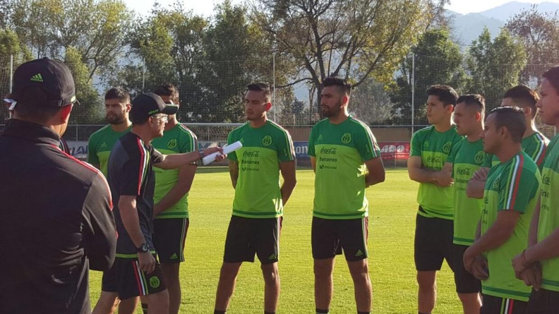 Con un trabajo de recuperación, la Selección Mexicana de...