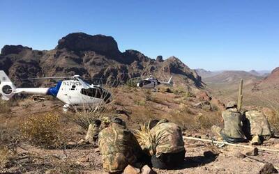 Autoridades migratorias encuentran a un grupo de 'scouts' en las monta&n...