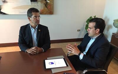 Esta es la primera reunión oficial entre ambos políticos d...
