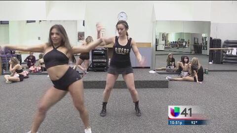 En los zapatos de: Silver Dancers de los Spurs de San Antonio
