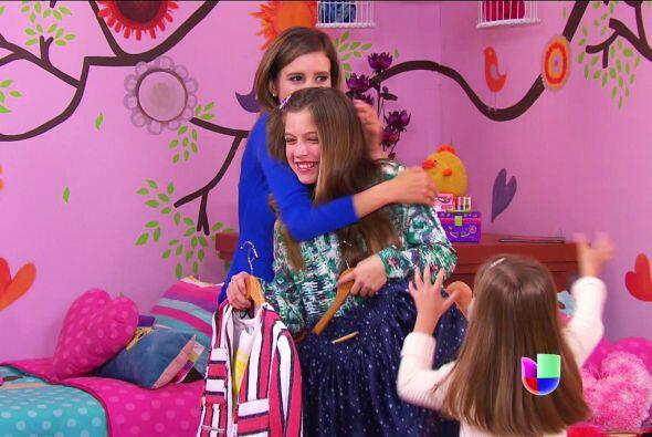 ¿Ves cuánto amor tienes? Fanny, Ana y Luz te adoran.