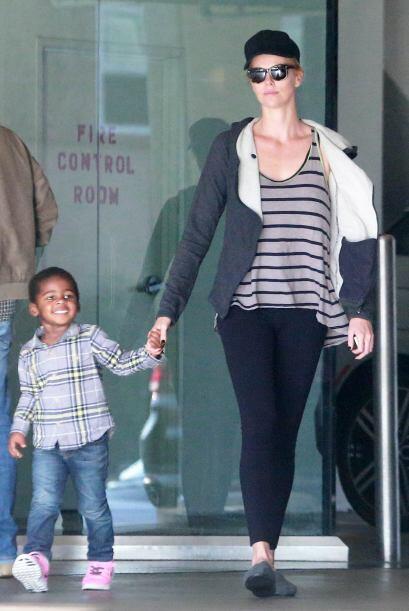 Jackson fue adoptado por la famosa en el año 2012.