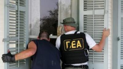 Agentes de la DEA participaron de las redadas.