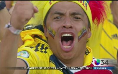 ¡Fiesta y alegría por triunfo de Colombia!