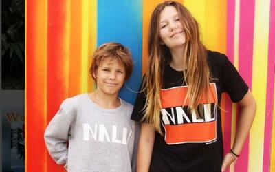 Dali y su hermano Finn, los creadores de NALU